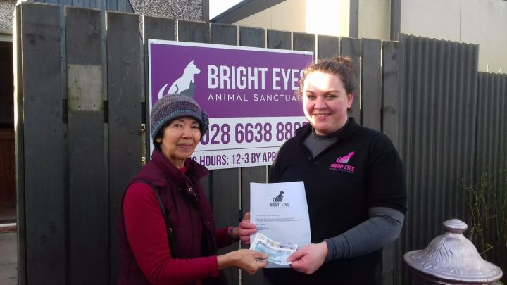 Donation to Bright Eyes Animal Sanctuary